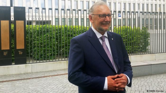 Berlin, kroatischer Innenminister Davor Bozinovic