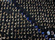 中国一所大学的毕业典礼