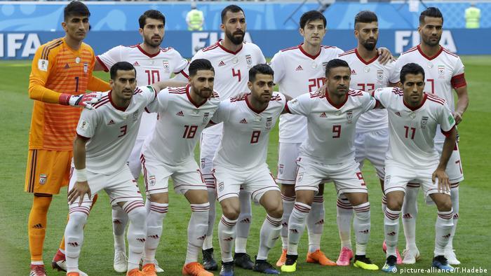 Marokko gegen Iran - FIFA WM 2018 - Gruppe B - St. Petersburg Stadium (picture-alliance/T.Hadebe)