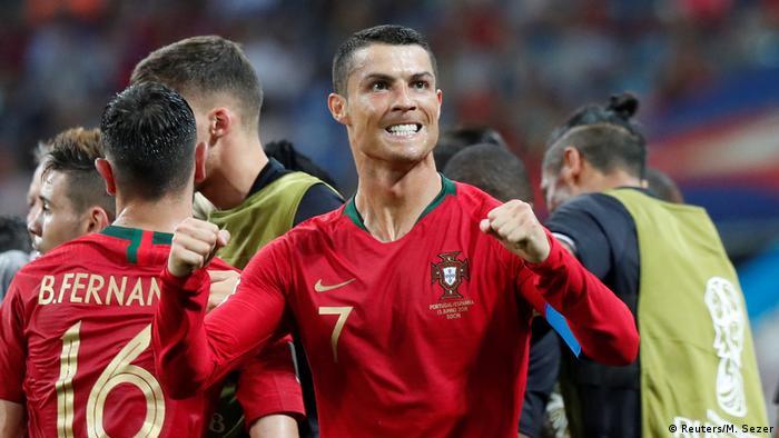 España 3- Portugal 3: Ronaldo impone su ley