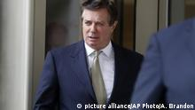 USA - Paul Manafort muss ins Gefängnis (picture alliance/AP Photo/A. Brandon)