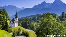Берхтесгаден в Баварских Альпах