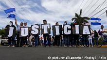 Nicaragua Proteste gegen Ortega
