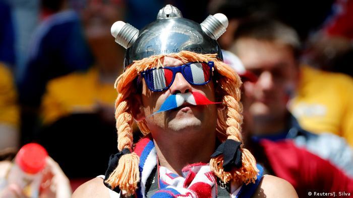 Russland, WM 2018: Gruppe C: Frankreich - Australien, Fans vor dem Spiel (Reuters/J. Silva)
