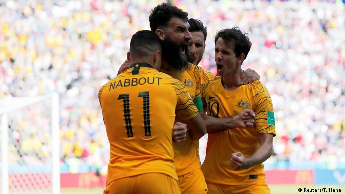 Russland, WM 2018: Gruppe C: Frankreich - Australien, Tor Australien