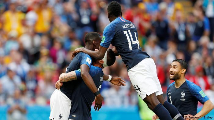 Russland, WM 2018: Gruppe C: Frankreich - Australien