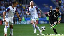 Russland, WM 2018: Gruppe D: Argentinien - Island