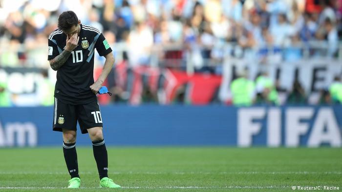Russland, WM 2018: Gruppe D: Argentinien - Island (Reuters/C. Recine)