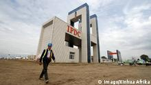 (160714) -- HAWASSA, July 14, 2016 -- A worker walks at the Hawassa Industrial Park in Hawassa twon, 275 kilometres south of Addis Ababa, Ethiopia, July 13, 2016. The Hawassa Industrial Park, the largest specialized apparel and textile park in Africa, constructed at a cost of 250 million USD was officially inaugurated here on Wednesday. The industrial park was constructed by China Civil Engineering Construction Corporation (CCECC) within nine months. ) (correction)ETHIOPIA-HAWASSA-INDUSTRIAL PARK-INAUGURATION MichaelxTewelde PUBLICATIONxNOTxINxCHN 160714 July 14 2016 a Worker Walks AT The Industrial Park in Twon 275 kilometers South of Addis Ababa Ethiopia July 13 2016 The Industrial Park The Largest SPECIALIZED Apparel and TEXTILE Park in Africa constructed AT a Cost of 250 Million USD what officially inaugurated Here ON Wednesday The Industrial Park what constructed by China Civil Engineering Construction Corporation CCECC Within Nine MONTHS Correction Ethiopia Industrial Park Inauguration MichaelxTewelde PUBLICATIONxNOTxINxCHN