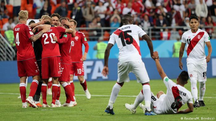 Fußball WM 2018 Gruppe C Peru - Dänemark (Reuters/M. Brindicci)