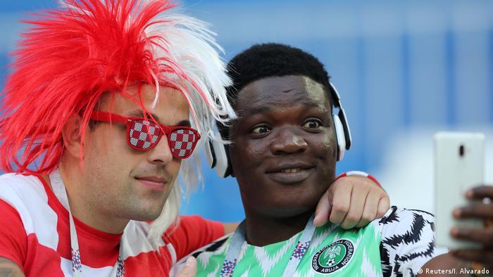 Fußball WM 2018 Gruppe D Kroatien - Nigeria