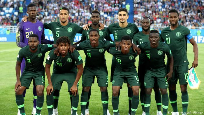Nigerian team photo (Getty Images/J. Finney)