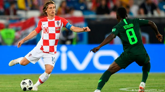 Luka Modric is a key cog in Croatia's side