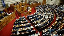 Griechenland Debatte über Namenstreit mit Mazedonien im Parlament in Athen