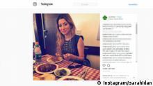 Screenshot Instagram- Besuch der irakischen Schönheitskönigin Sarah Idan in Jerusalem