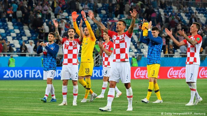 Fußball WM 2018 Gruppe D Kroatien- Nigeria