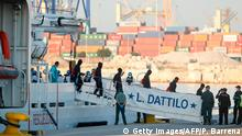 Spanien «Aquarius»-Migranten in Valencia