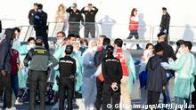 Spanien «Aquarius»-Migranten in Valencia