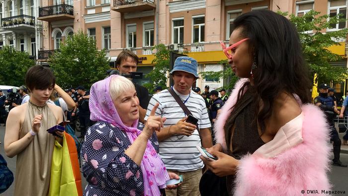 KyivPride Parade in Kiew (DW/A. Magazova)