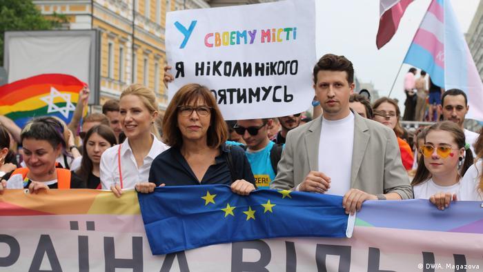 Kyiv gay pride march