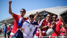 FIFA Fußball-WM 2018 in Russland | Costa Rica vs. Serbien | Fans
