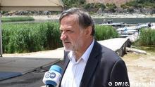 17.06.2018, Psarades+++Konstantinos Seltsas, griechische Parlamentarier von Syriza im DW-Interview. (c) DW/Goran Trpenoski