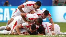 Fußball WM 2018 Gruppe E Costa Rica - Serbien