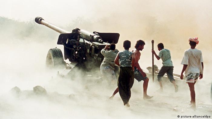 Bürgerkrieg im Jemen 1994 (picture-alliance/dpa)