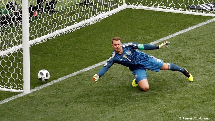 Fußball WM 2018 Gruppe F Deutschland - Mexiko (Reuters/C. Hartmann)