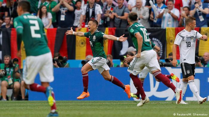 cb7b3aa0df Fußball WM 2018 Gruppe F Deutschland - Mexiko (Reuters M. Shemetov)