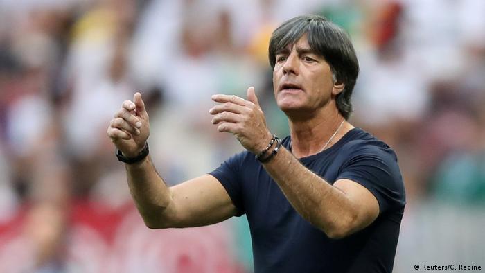 Fußball WM 2018 Gruppe F Deutschland - Mexiko Joachim Löw
