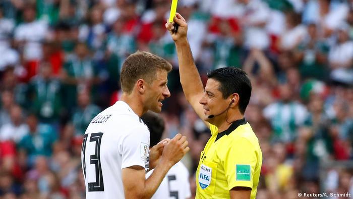 علیرضا فغانی در جام جهانی ۲۰۱۸ و اخطار به توماس مولر از تیم ملی آلمان