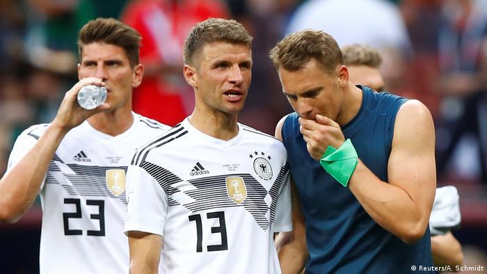 Про немецкого футболистов