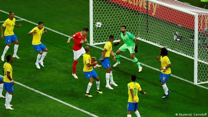 Fußball WM 2018 Gruppe E Brasilien - Schweiz (Reuters/J. Cairnduff)