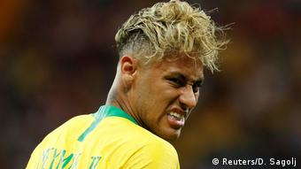 Fußball WM 2018 Gruppe E Brasilien - Schweiz Neymar