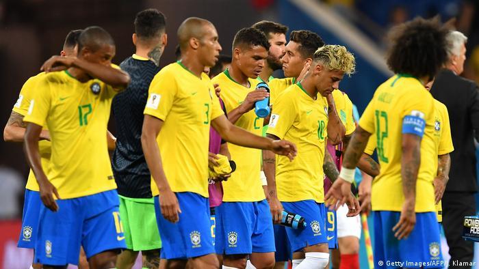 Fußball WM 2018 Gruppe E Brasilien - Schweiz