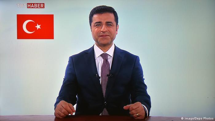 Türkei Selahattin Demirtas Fernsehansprache
