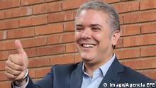 Kolumbien Präsidentschaftskandidat Ivan Duque in Bogota