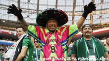Fußball WM 2018 Gruppe F Deutschland - Mexiko   Mexiko-Fans feiern den Sieg