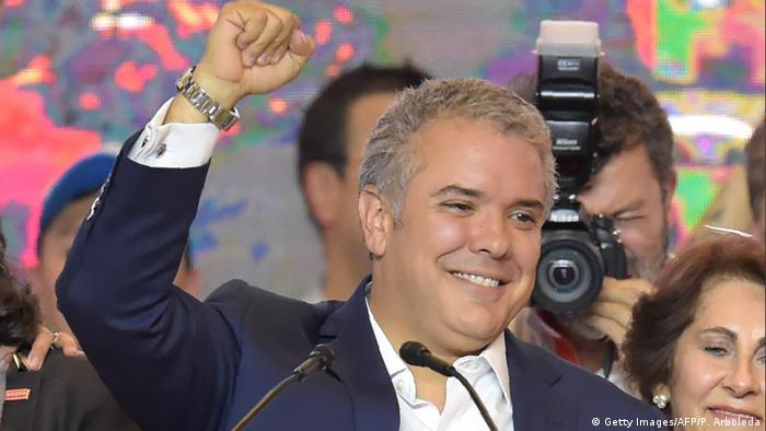 Kolumbien Ivan Duque in Bogota