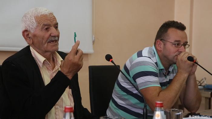 Serbien Konferenz der Partei SAD in Novi Pazar