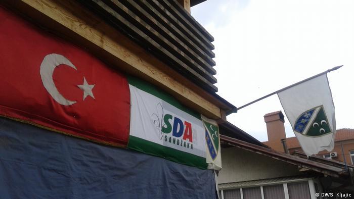 Sjedište Stranke demokratske akcije u Novom Pazaru
