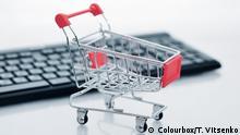 e-commerce Symbolbild Einkaufswagen