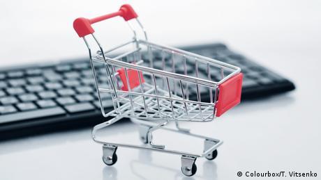 e-commerce Symbolbild Einkaufswagen (Colourbox/T. Vitsenko)