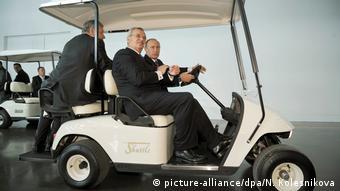 В 2009 году Мартин Винтеркорн вместе с Владимиром Путиным открывал завод VW в Калуге. Фото из архива