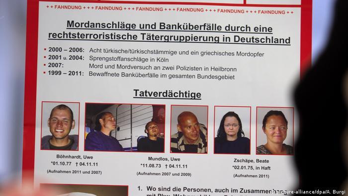 NSU Terroristen - Fahndungsplakat