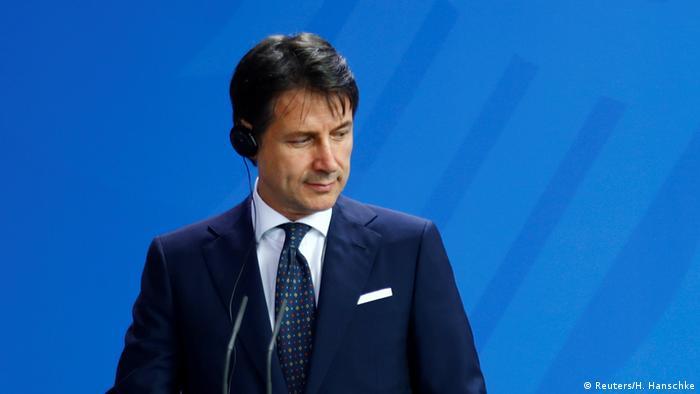 Конте і раніше критично оцінював санкції ЄС проти Росії