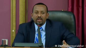 Ethiopia Prime Minister Ahmed Abiy