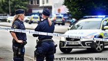 Schweden Schießerei in Malmö