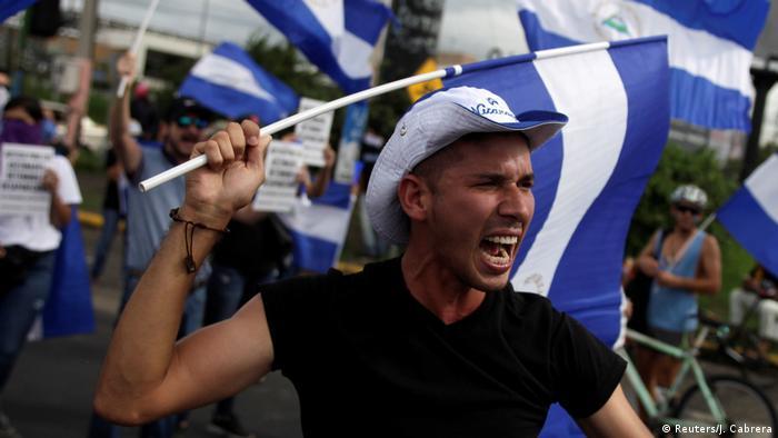 Nicaragua Protest gegen Präsident Ortega in Managua